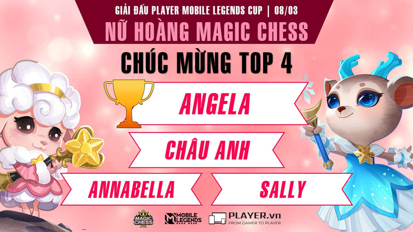 Player Mobile Legends Magic Chess Lady Cup