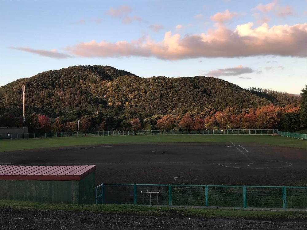 上芦別野球場