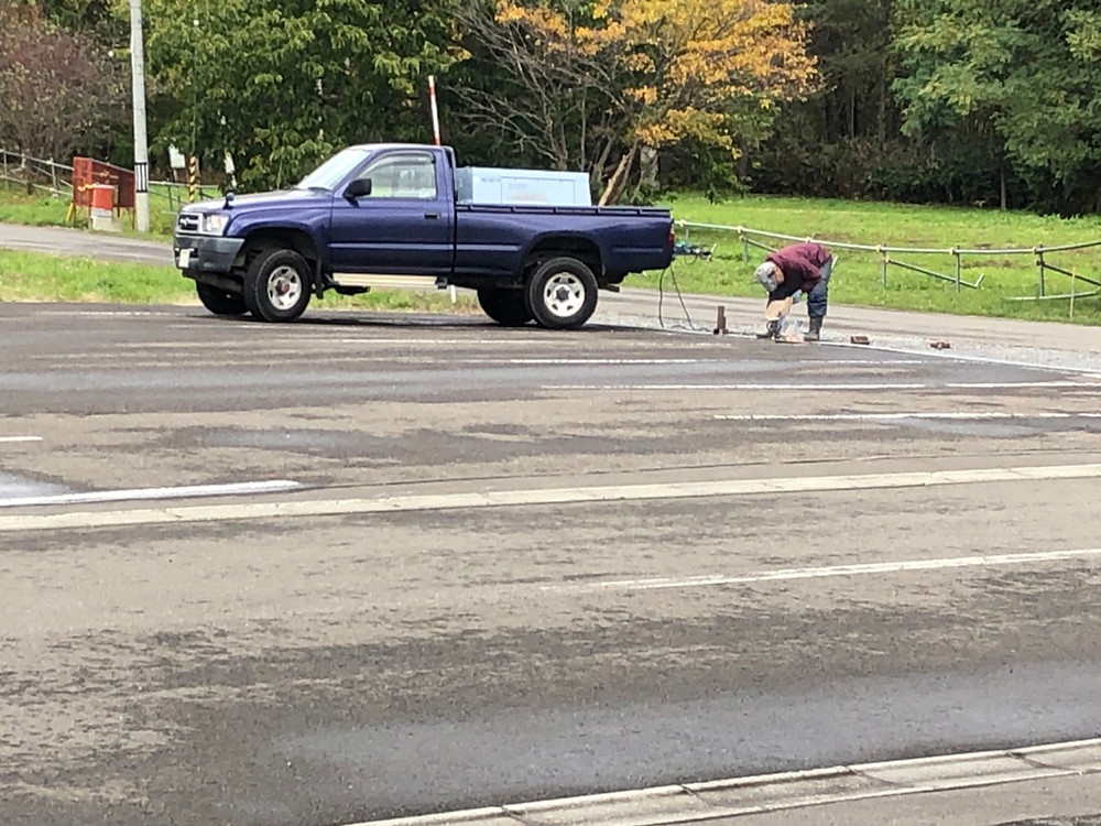 駐車場の補修
