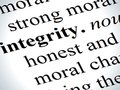 Saying Nothing Is An Integrity Test