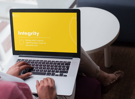 Part Time Integrity Is Not Integrity