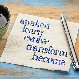 Learn, Evolve and Transform Through Transitions Coaching