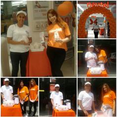 Ação com Pipoca Nextel São Miguel e Shopping ABC