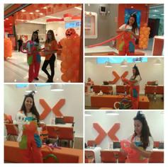 Escultura em Balões Nextel
