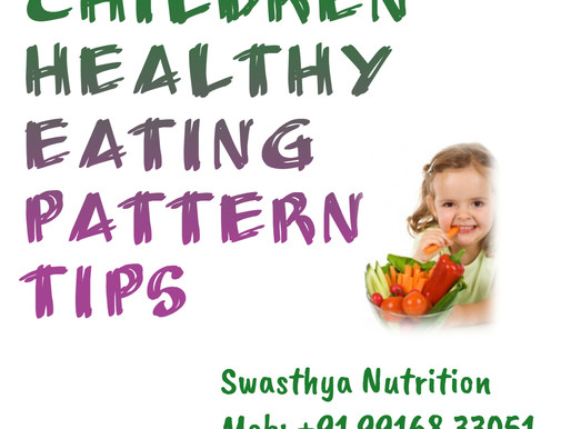 Children healthy eating pattern tips