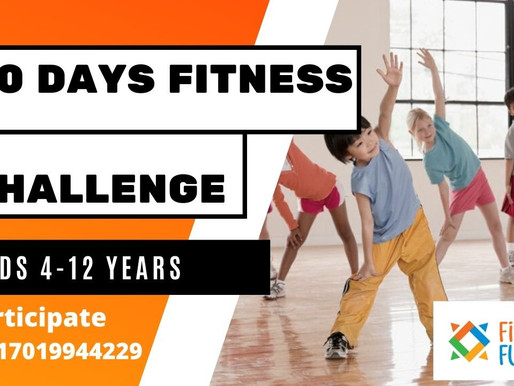 FREE 30 Days Kids Fitness Challenge