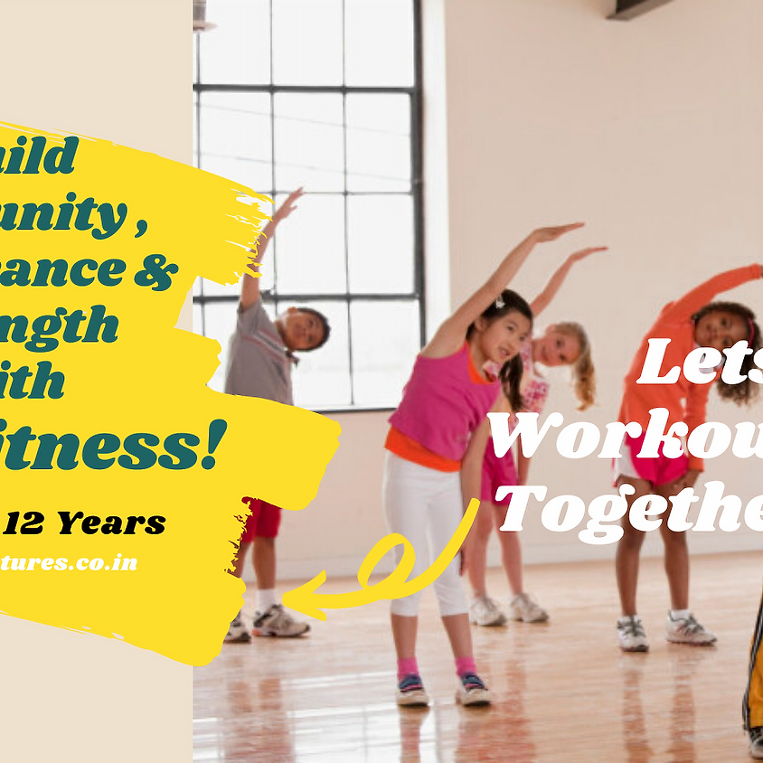 Fun Fitness Camp for Kids@Home