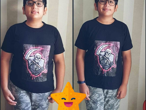 WEIGHT Loss Journey of a Kid !