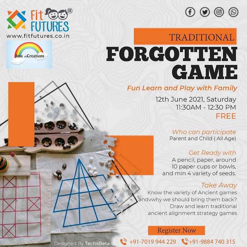 Traditional Forgotten Game - Fun, Learn, Play with Family