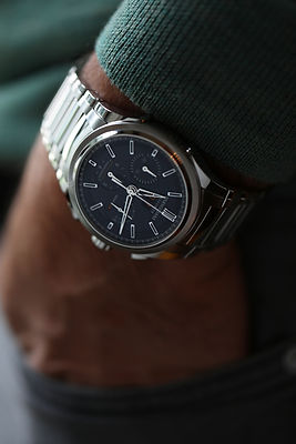 Tondagraphe GT Steel on wrist-2.jpg