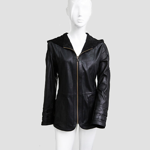 Reversible Jacket with Hood