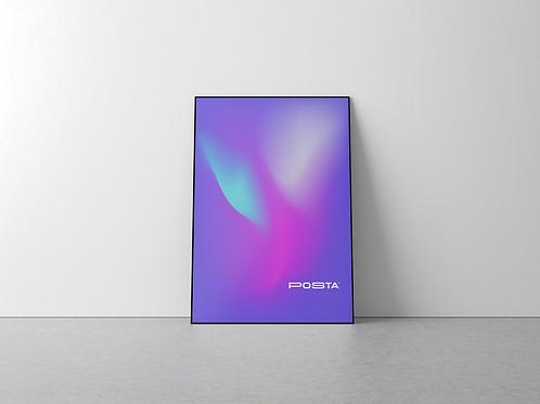 v2 - Printed Posta Poster