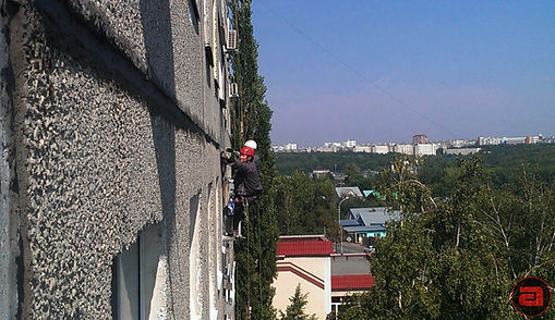 ремонт фасадов, швов