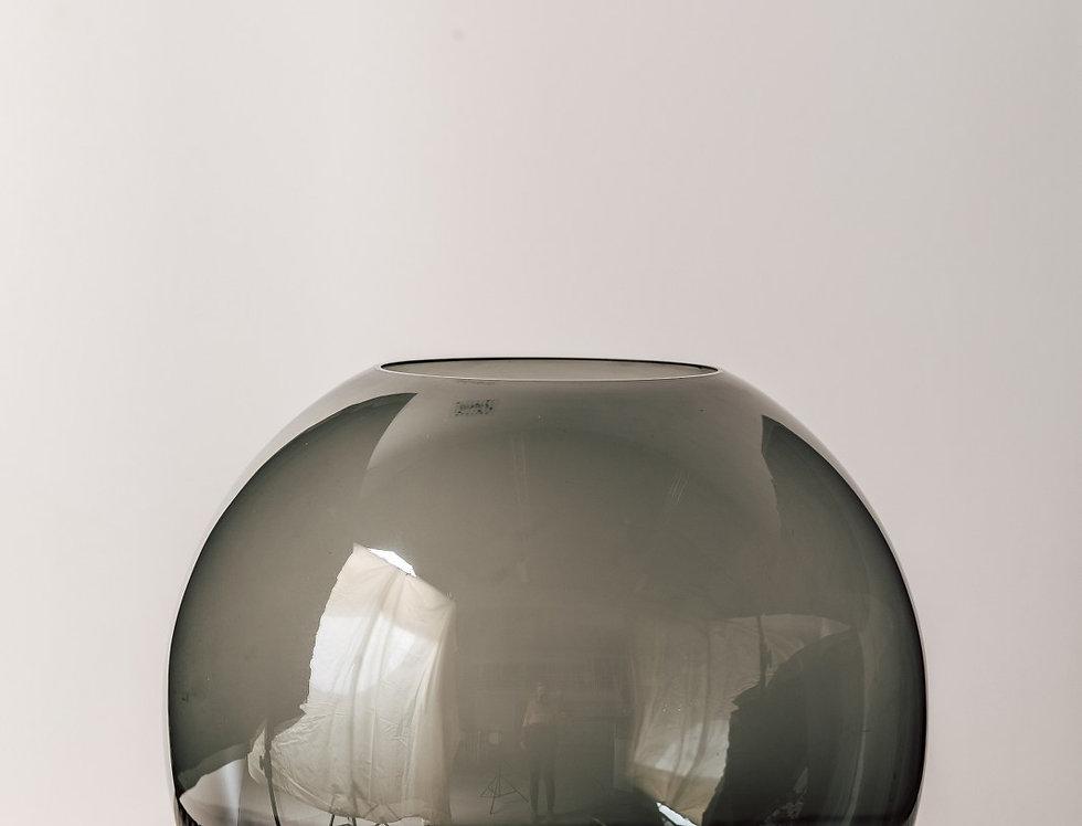 Vase Fishbowl grau