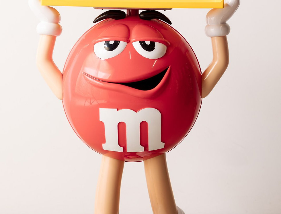 M&M Figur rot