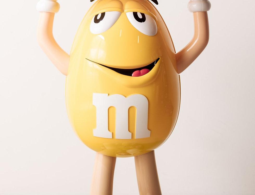 M&M Figur gelb