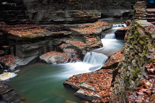 The waterfalls of Watkins Glen, NY