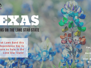"Press Release: Oak Lawn Band Presents ""Texas"""