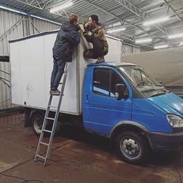 "Тент на крышу фургона ""накрывашка"" 5000 руб."