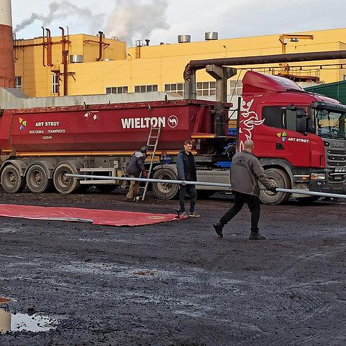 Полог на Scania 9метров