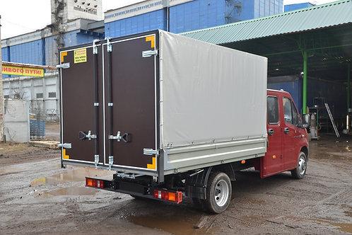 Тент + ворота на малотоннажный грузовик