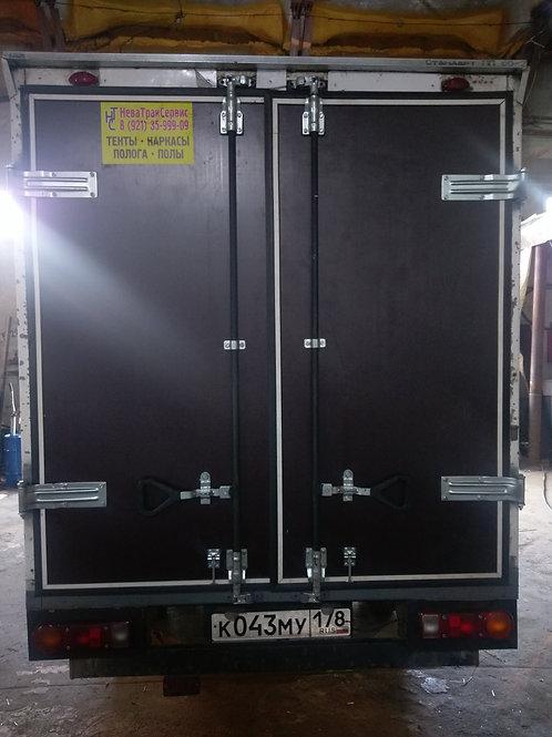 Ворота фургона высотой до 2.5м 4 петли