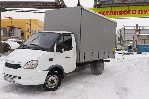 Газель 2011г белая, евро-фургон штора 4.2х2.2х2 мотор 4216