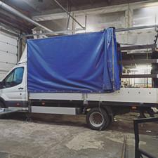 Изготовление ворот от 2.5м для Ford Transit 26000руб.