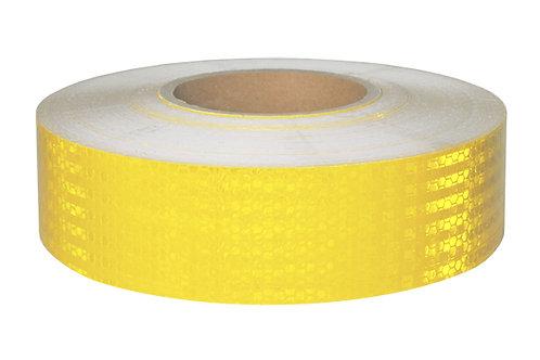 Лента светоотражающая желтая, 50мм
