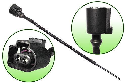 Разъем задний 2-х контактный с кабелем (п/т Volvo, Scania, MB....)