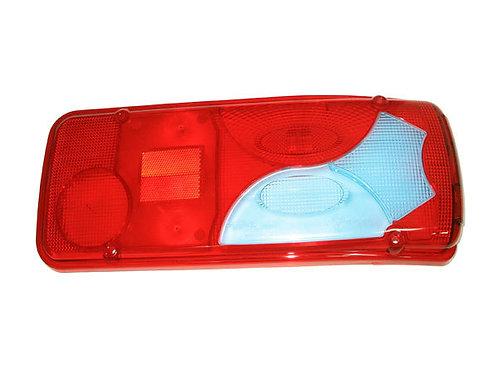 Стекло фонаря заднего правое - синее  (0360L/R 611817, АТ-1360/R)