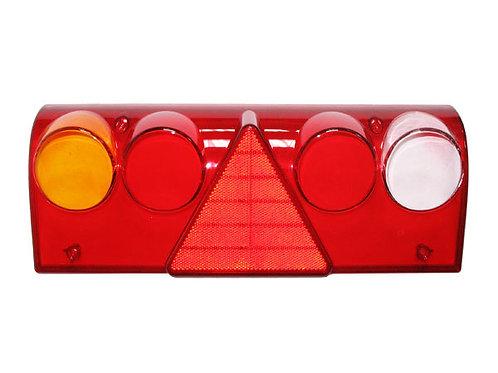 Стекло фонаря заднего прав. 611454, 611456 (желто-белое)