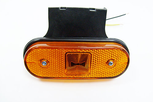 "Фонарь габаритный LED ""АТ"" с кронштейном (желтый)"