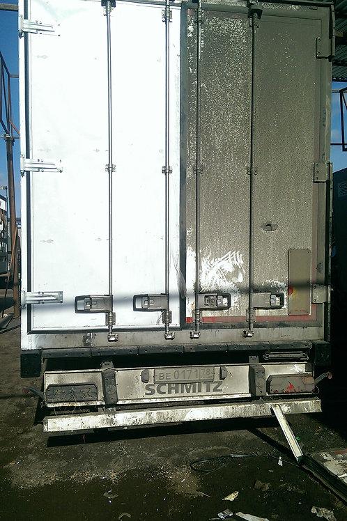 Ворота 55мм. на фургон реф-изотермический 8 петель,4 штанговых замка