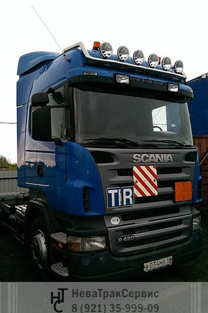 Дуга на кабину scania 5 series 04-15г