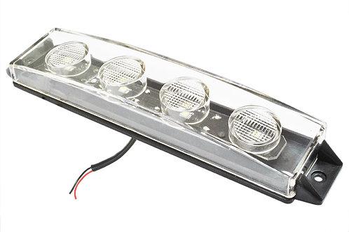 Фонарь габаритный на кабину (в козырек-винт.) SCANIA-4/P/R/G, LED 24V, белый