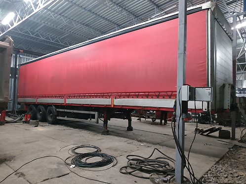 Ремонт тента для Scania