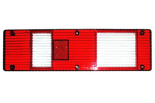 Стекло фонаря заднего AT-1845,1846 (МАЗ, тюнинг, бел. указ. поворота)
