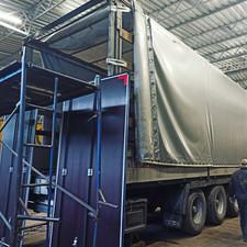Ворота от 2.5м (8 петель 332мм, 4 штанги) на Scania 48000руб.