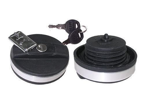 """Крышка бензобака """"АТ"""" D=60мм с ключом и защитой пластмассовая (SCANIA-VOLVO-DAF-"""