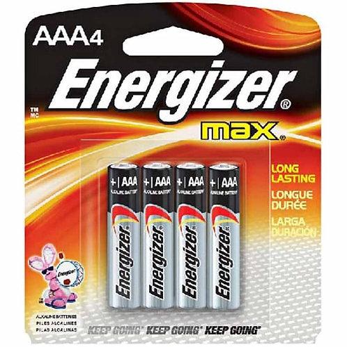 Батарейки Energizer ААА (мизинц.) 4 шт.