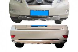 Защита переднего и заднего бамперов