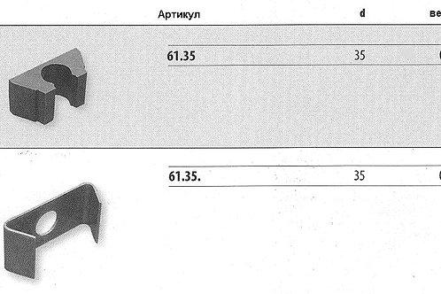 Вкладыш резиновый для крепежных элементов + Крепежный элемент