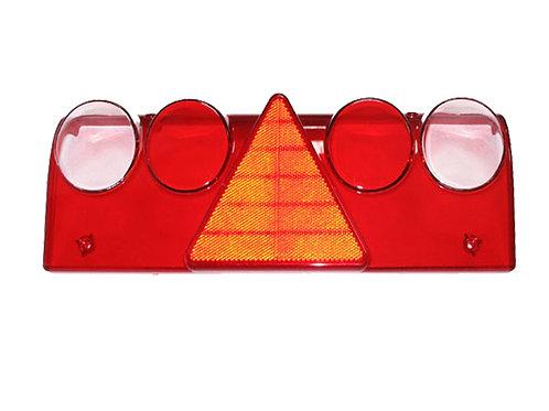 Стекло фонаря заднего 611448, 611449, 611450, 611451 красно-белое