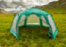 туристические палатки из ПВХ