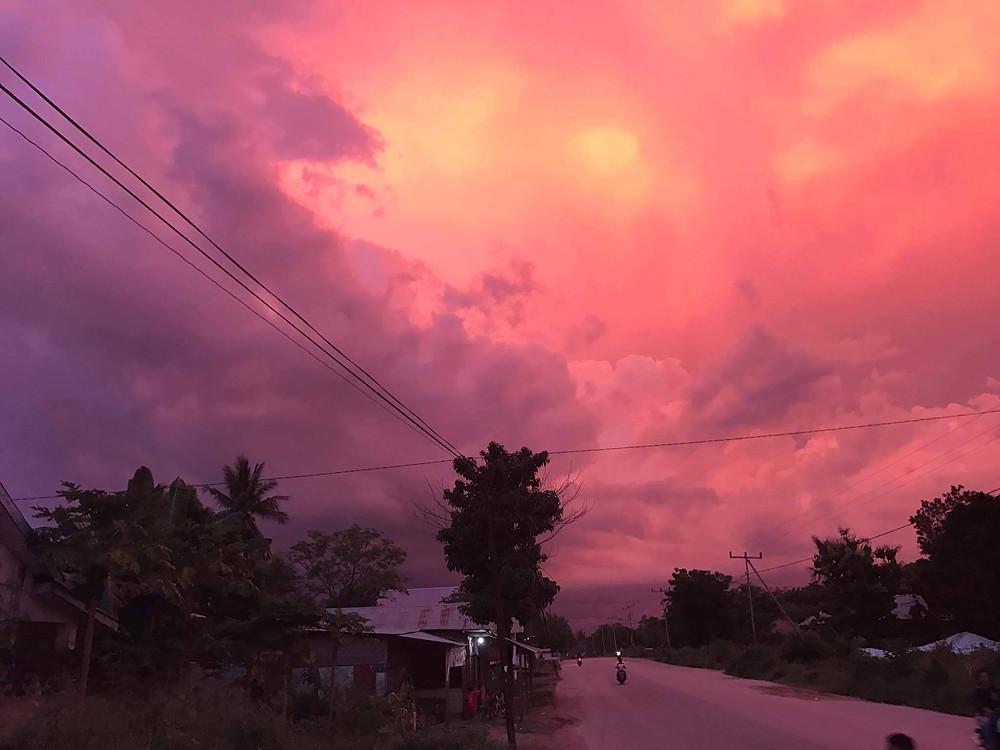 sumba sunset