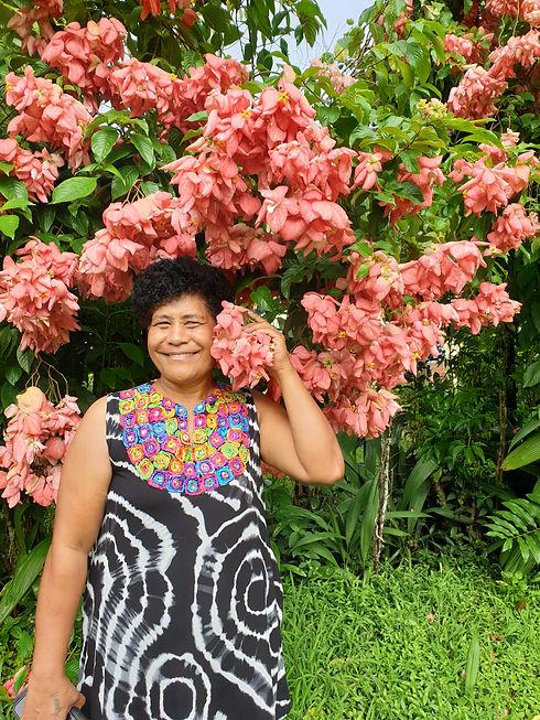 Tupou, farm manager at the Ranadi Planta