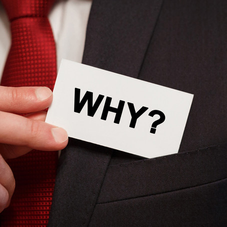 "What's Your ""Why""?"