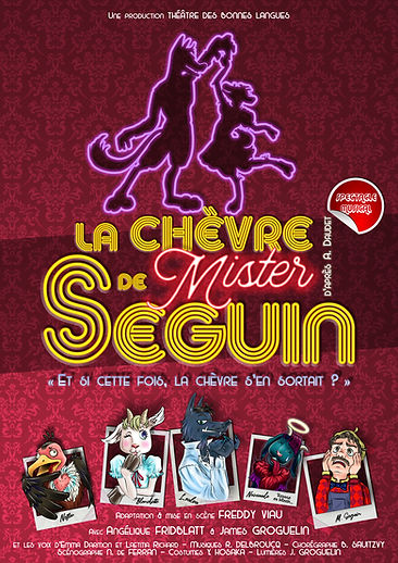 Visuel-Affiche La Chèvre de Mister Segui