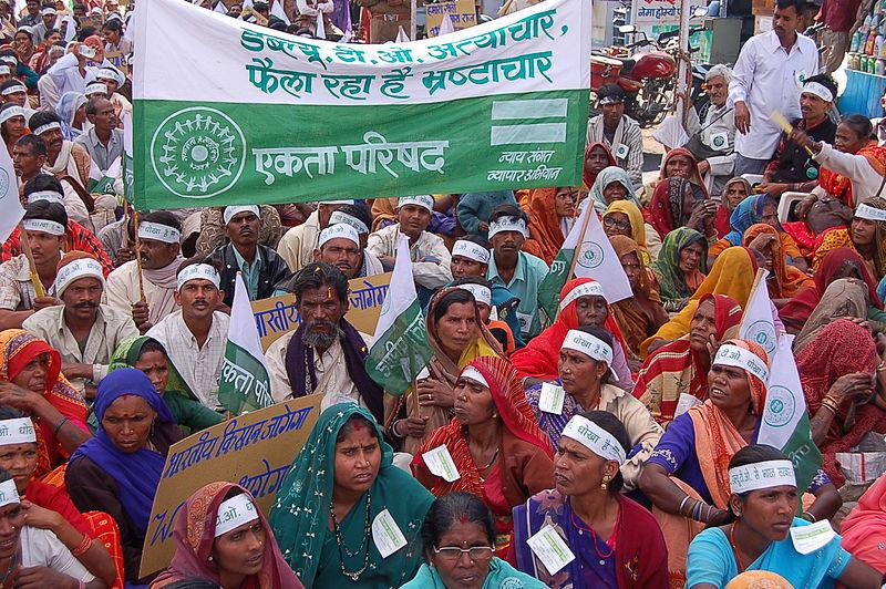 Révolte des paysans en Inde